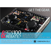 Denon DN-MC6000 DJ Digital Mixer and Midi Controller combo, Rackmountable